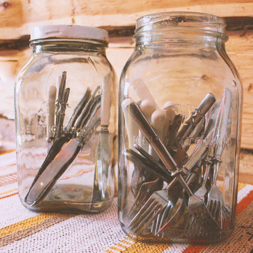 Riihimäen lasi, keittiöpurkki